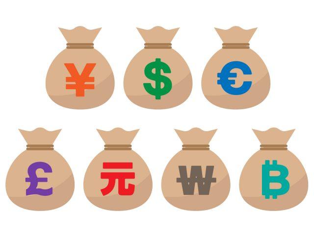 オンラインカジノの入金に使える通貨