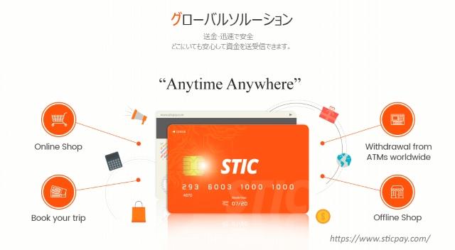 STICPAY(スティックペイ)カードでATM出金も可能
