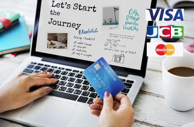 VISA・JCB・MasterCardクレジットカードで入金できるオンラインカジノ