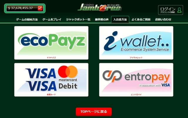 VISAのクレジットカードで入金できるオンラインカジノ【5選】を紹介