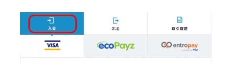 「はい」をクリックし、好きな方法で入金手続きを行う