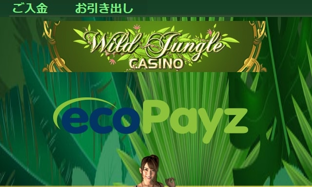 】ワイルドジャングルカジノの始め方!登録方法と入出金の手順