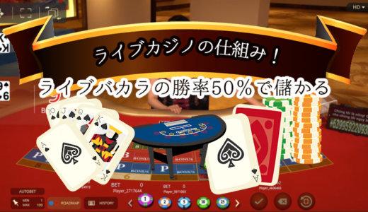 ライブカジノとは!?ライブカジノの仕組みと遊び方