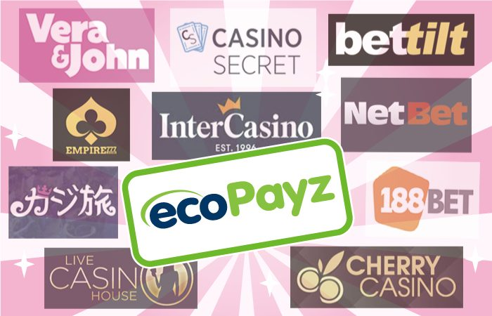 ecoPayz(エコペイズ)でオンラインカジノに入金