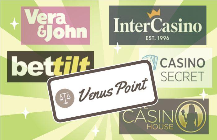 VenusPoint(ヴィーナスポイント)でオンラインカジノに入金