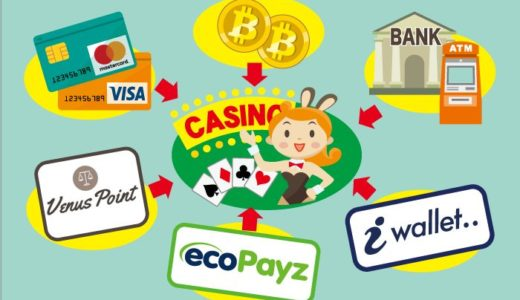 オンラインカジノの入金方法の選び方