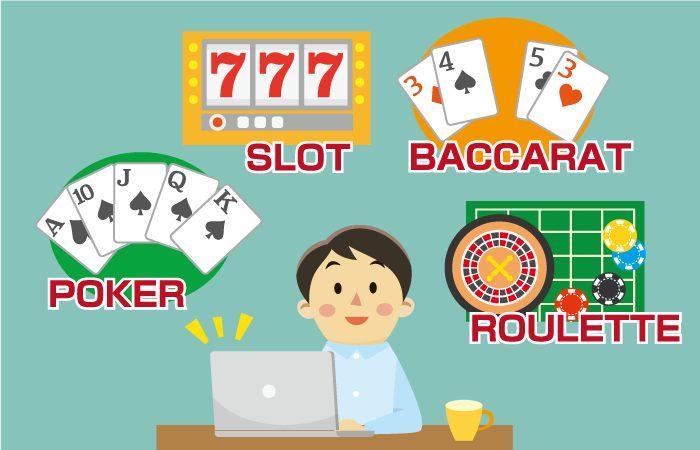 【オンラインカジノの仕組み】オンラインカジノを楽しむプレイヤー