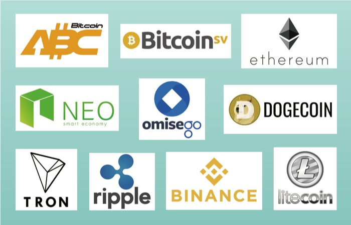 ビットコイン以外で入金できる仮想通貨(暗号通貨)