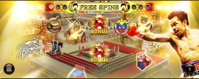 Pacquiao One Punch KOのボーナス