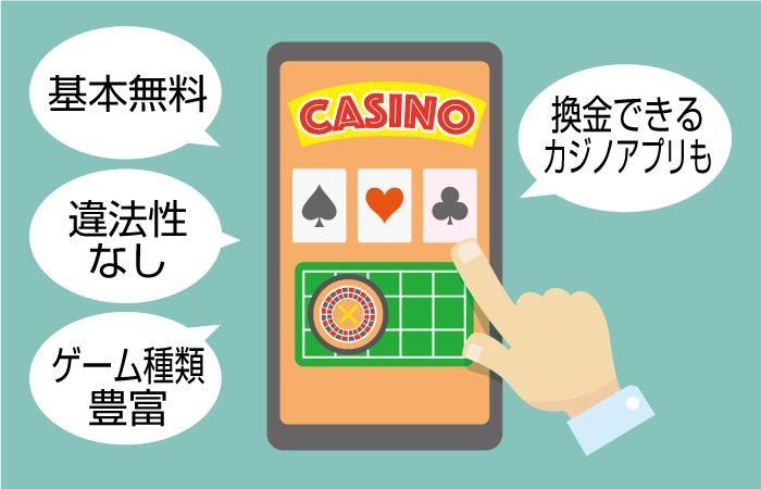 おすすめカジノアプリ