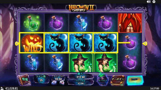 Halloween Fortune 2(ハロウィン・フォーチュン2)は配当しやすい
