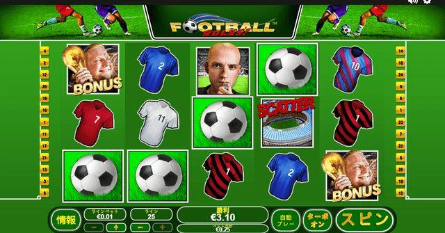 Football Rules(フットボール・ルールズ)のボーナス