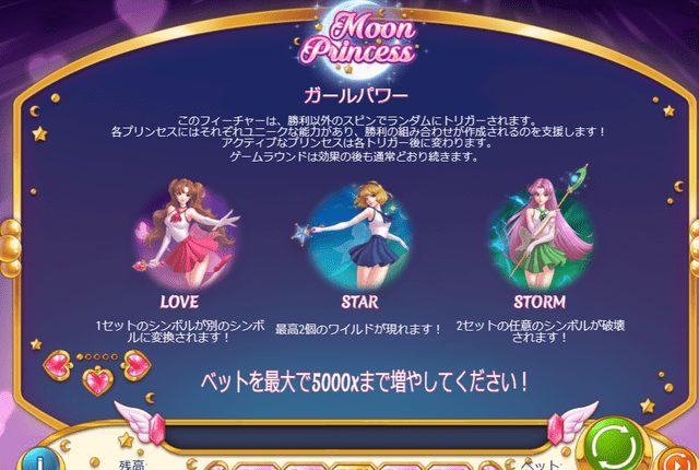Moon Princessスロット