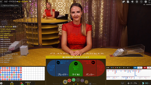 テーブルゲームのボーナス消化率は低い