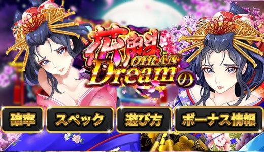 花魁ドリーム(Oiran Dream)の確率・スペック・遊び方・ボーナス情報