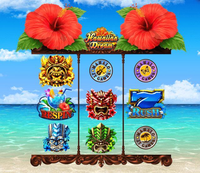 ハワイアンドリーム(Hawaiian Dream)のリール構成