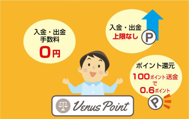 VenusPoint(ヴィーナスポイント)を利用するメリットとデメリット
