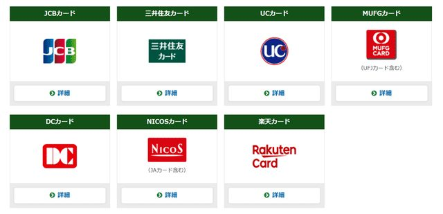 競馬で利用可能なクレジットカード