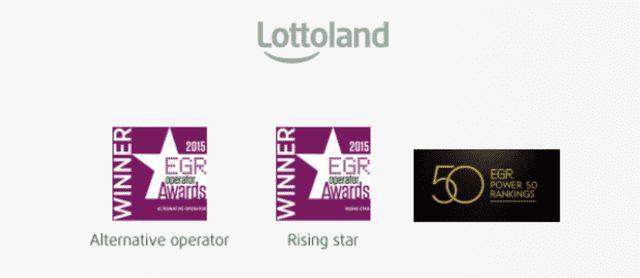 ロトランドが受賞したオンラインゲーミング業界における著名な賞