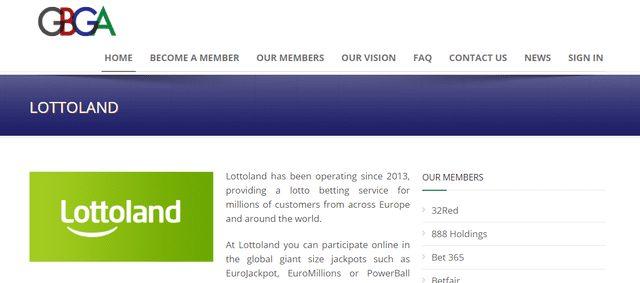 ロトランドが取得しているジブラルタルのライセンス