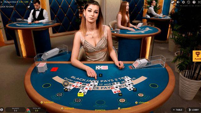 オンラインカジノでプレイできるライブカジノ