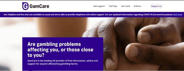 クイーンカジノが加入しているGamcare