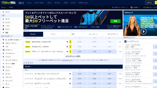 オンラインギャンブルがプレイできるスポーツベットサイト